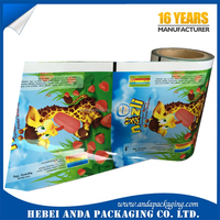 Gravure Printing Ice Cream Packaging Film for High Speed Packing Machine/Popsicle Packaging Bag/Plastic Popsicle Wrapper