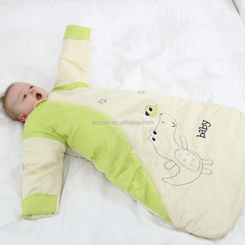 LAT jersey cotton sleepsack newborn baby sleeping bag