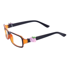 GA-8017 New Design Resin Apple And Flower Charm Glasses Eyewear Charm Sunglasses Decorations Ornaments Promotional Gifts
