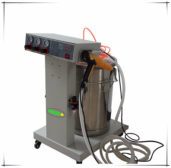 epoxy electrostatic powder application system