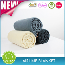 Sedex Certification factory100% Polyester Hight Quality Polar Fleece Blanket for Travel ,Airplane,Camping