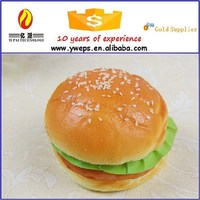 YIWU artificial food, model for bread for decoration