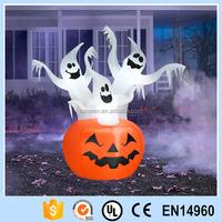 inflatable pumpkin light decoration of halloween pumpkin costume