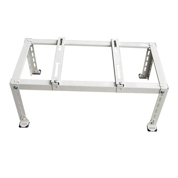 Floor stand stainless steel angle air conditioner outdoor unit support bracket with free screws