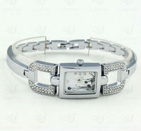 2013 cheap watch brand elegance quartz lady silver watch