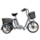 Factory supply tricycle for adult three wheel electric motor bike