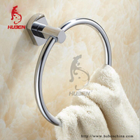 Modern Designs Brass wall mounted chromed towel rings