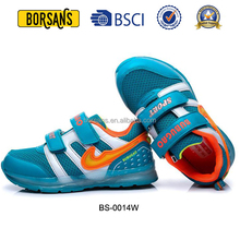 Brand style light up sport shoes for kids,airbag outsole led shoes