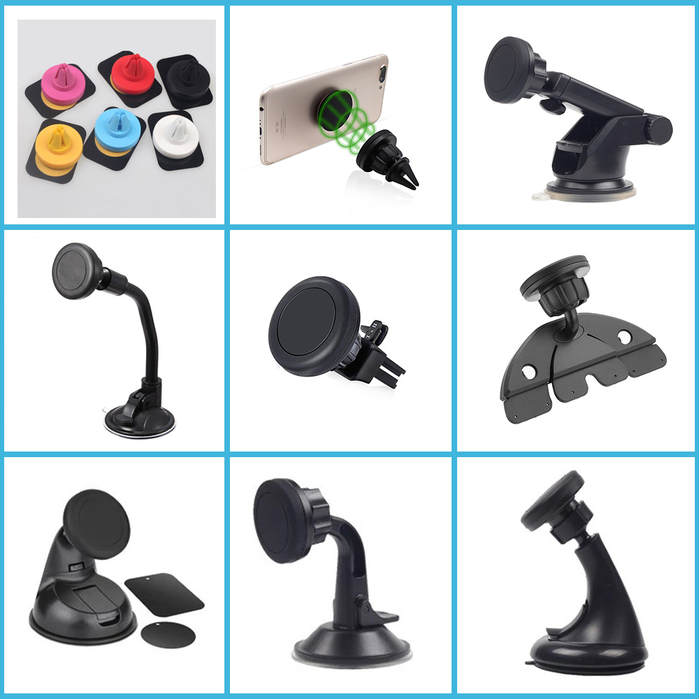 Magnetic Silicon Car Mobile Cell Phone Mount Holder