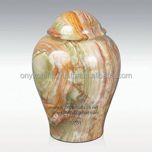 Mult Green Onyx Urny in Low Price