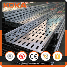 hot dipped galvanized cable tray/cable tray manufacturers/perforated cable tray
