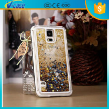 Bling moving glitter liquid phone cover case for Samsung galaxy s4 zoom