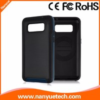 hard cover and soft bumper combo protective case for Samsung G355
