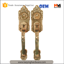 home use fancy Double handle door lock deadbolt bolt manual door lock