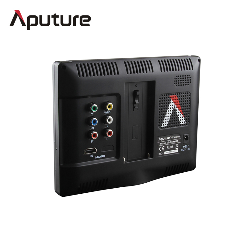 Aputure 1920*1200 HD 7 inch battery powered video lcd display screen <strong>monitor</strong> with HDMI input