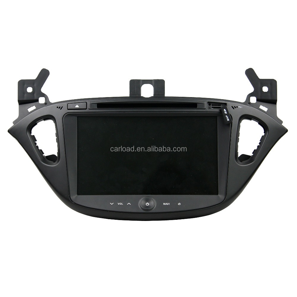 Android 5.1.1 HD screen 2 din car dvd with gps for Opel Corsa