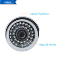hot sell 1.0mp wifi network home ip camera support TF record 720P P2P outdoor onvif easy install