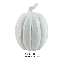 Wholesale Halloween Decorative Craft White Foam Pumpkin