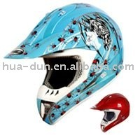 Full face dirty bike ece r22.05 motorcycle helmet with ece and dot HD-802