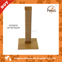 New design Wooden Cat tree cat scratching board