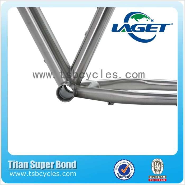 titanium fat tire bike frame TSB-FT501