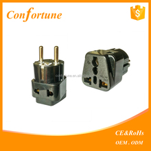 Universal Travel Power Plug Adapter USA to Germany/universal eu us uk aus to france travel adapter plug