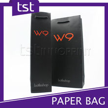 Luxury Paperboard Bag for Wine Bottle Package