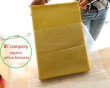 Beekeepers produced natural Pure beeswax comb foundation Yellow beeswax pharmaceutical grade food grade wax