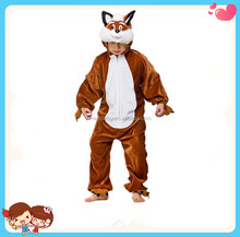 Wholesale Custom High Quality Funny Animal Shaped Plush Soft Winter One Piece Pajamas For Kids