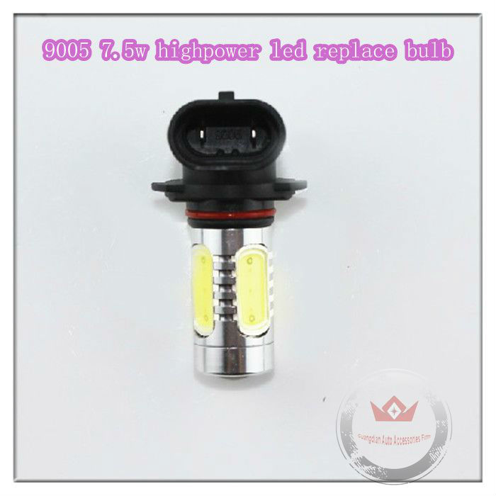 2013 NEW High Power Automotive Fog Lights 9005 LED Fog Lights 1.5w*5pcs 7.5w LED Replace Bulb