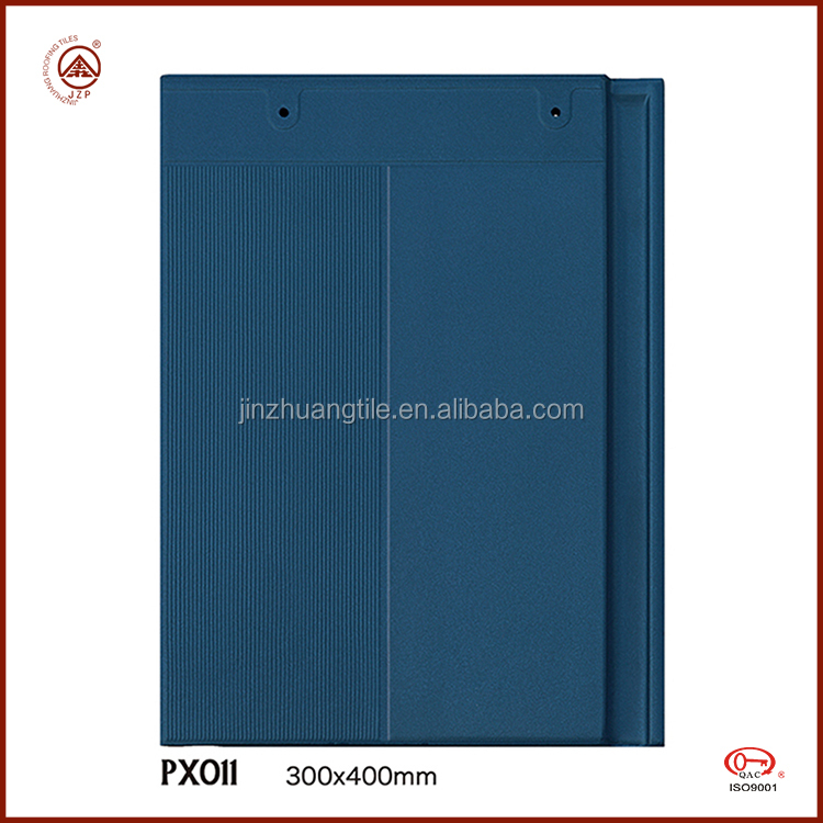 Traditional Chinese Ceramic Clay Solar Roof Tiles