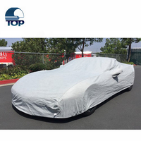 popular 100% sun protection fabric warmth silver coated taffta car covers