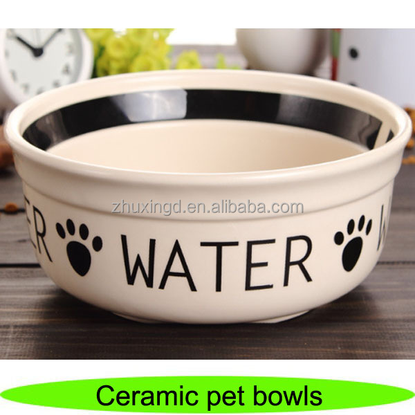 Wholesale ceramic pet dog bowl, bowl for dog