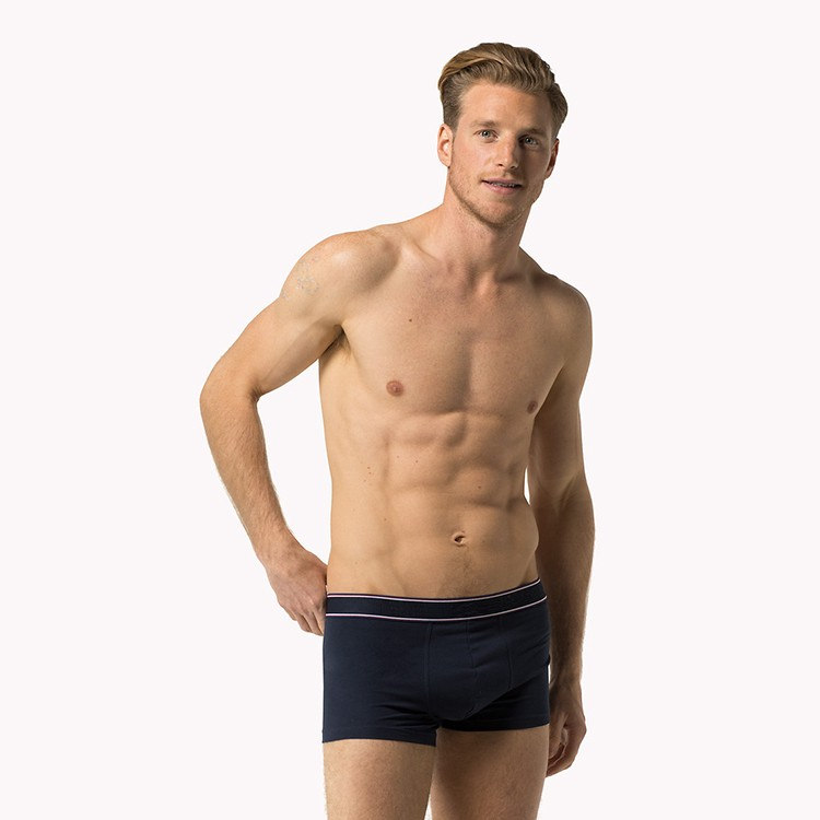 OEM service high quality 92% polyester 8% spandex underwear for men