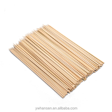 HS-Wholesale Natural Use flexible thin Disposable BBQ bamboo Skewer stick