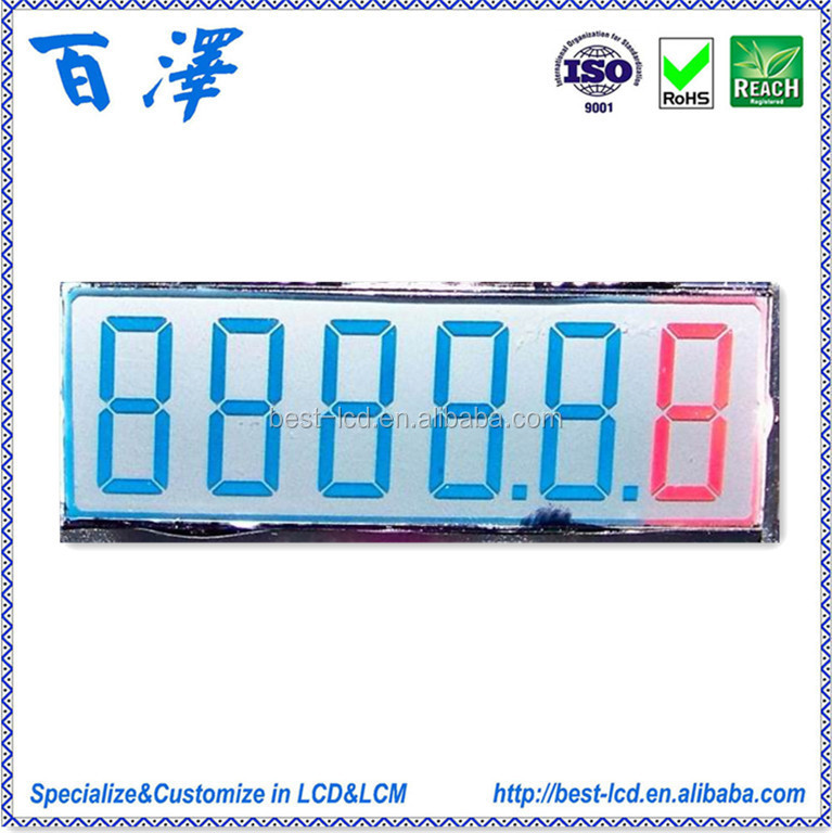 Segment TN LCD For Automobiles(Car Instruments)