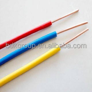 PVC INSULATED COPPER, single core solid buildiing wire, 1*2.5mm, 1*1.5mm