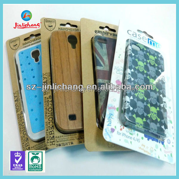 Kraft paper packaging box for Iphone cases