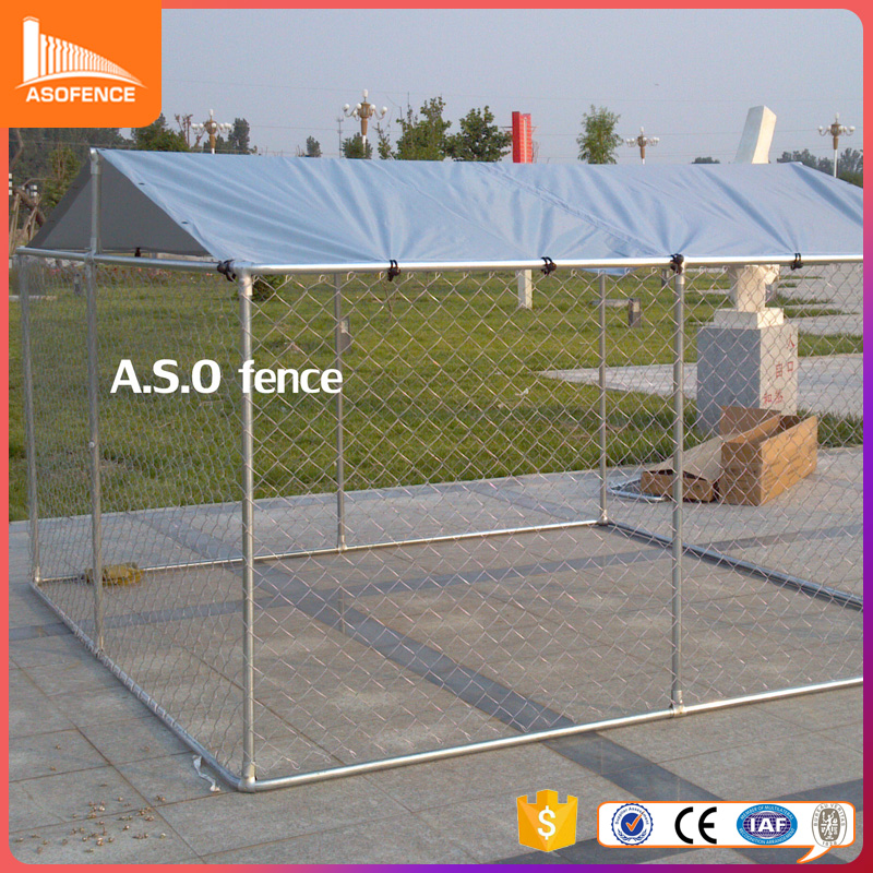 High Quality Large Metal Stainless Steel 10x10x6 Foot Classic Galvanized Outdoor Dog Kennel