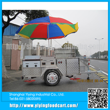 YY-HS200C 2015 hot selling bread dinning cart china small hot dog cart