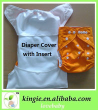 free sample washable cloth diaper cover with high absorbency soft insert