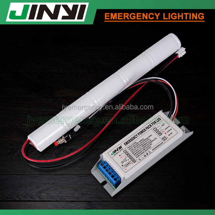 LED emergency EXIT signs backup battery rechargeable emergency power pack