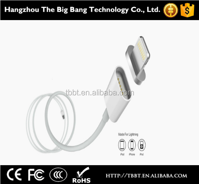 2016 Metal Micro USB Magnetic Connector Charging Cable for sale