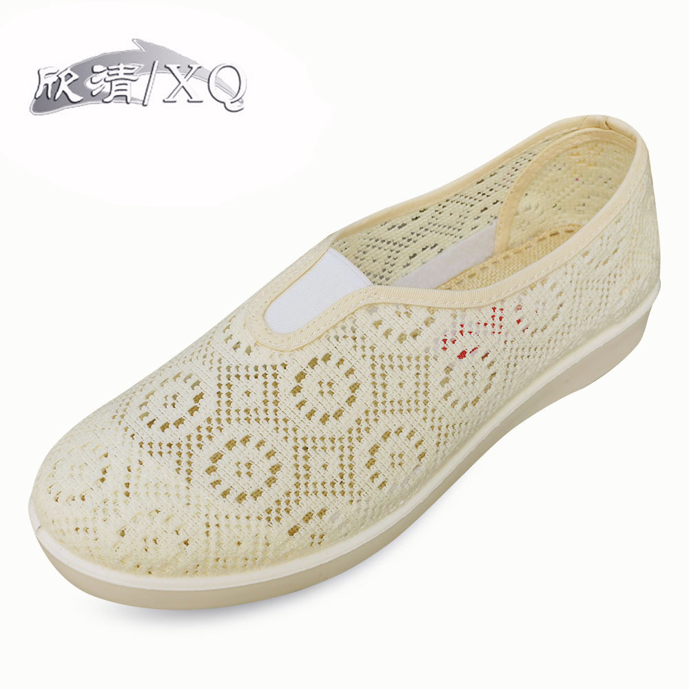 Women Shoes Mesh Flats 2015 Summer New Fashion Casual Sweet Woman Sandals Breathable Light Soft Slip On Women Shoes  Mesh Flats