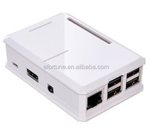 Best Price !!! Injection Molding Case White Raspberry Pi 2 & B+&Raspberry 3
