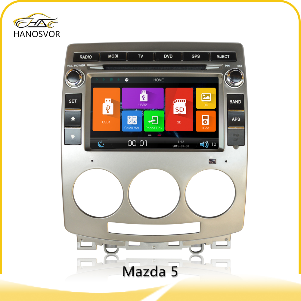 Factory price sd card usb mp3 bluetooth car radio for mazda 5 with canbus support steering wheel control