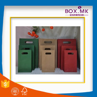 Recycle Stand Up Flat Handle Kraft Music Paper Bag