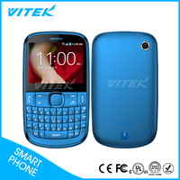 2.4inch Dual Sim slim qwerty keypad mobile phone with wifi mobile phone