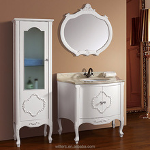 Chinese Quality Pure White European Style Bathroom Vanity WTS245