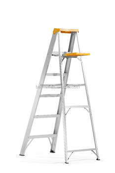 aluminum folding ladder